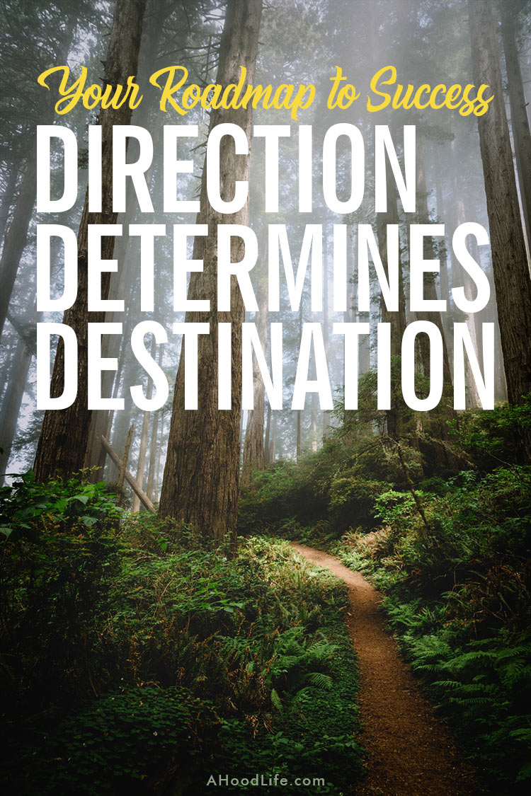 Your Roadmap To Success - Direction Determines Destination: Good intentions are at best detours on your roadmap to success. Direction, not intention, determine destination (Andy Stanley). Get the exciting, successful future you want. I'll show you how. These 4 Steps beginning with…