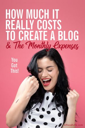 Don't let the costs to create a blog and the monthly expenses surprise you! Prepare to succeed by knowing how much to spend and make sure you avoid spending money on... #BloggingTips #BlogTips