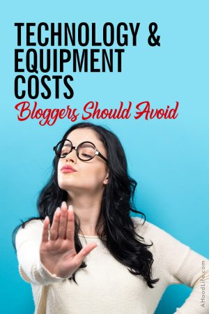 Don't let the costs to create a blog and the monthly expenses surprise you! Prepare to succeed by knowing how much to spend and make sure you avoid spending money on blog technology and blog equipment costs like… #BloggingTips #BlogTips