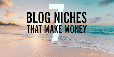 Blog Niches That Make Money + 100 Micro-Niche Ideas: What human needs drive traffic to the top blog niches? Discover the top blog niches and profitable sub-niche ideas for reaching the best target audience. Choosing the right blog niche can make all the difference in your blogging business and happiness. #ahoodlife #blogtips #blogging #bloggingtips #bloggingforbeginners #blogniche #blognicheideas #blognichesthatmakemoney #blognichelist #choosingblogniche #blogideas #blogideasforbeginners