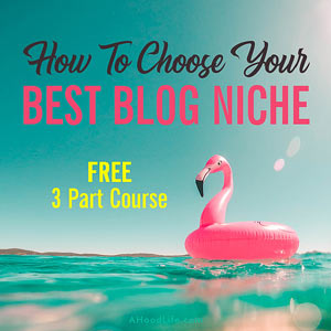 How To Choose Your Best Blog Niche: Want to start a blog but unsure what niche blog to start? You're not alone! This three part course will help you pick a profitable blog niche that will fuel your passions.
