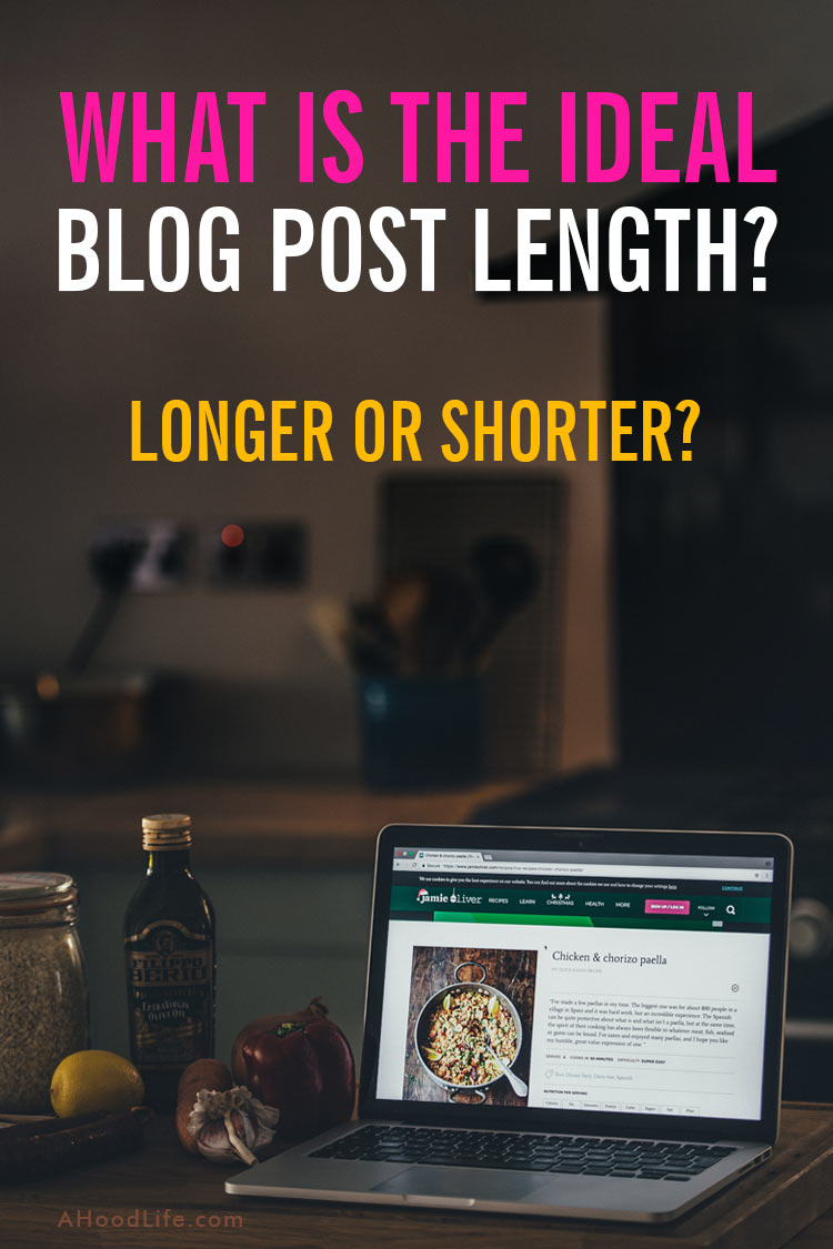 Blog post length is just one of the many things you must be take into account when blogging to maximize SEO and enhance reader experience. Sometimes a short blog post is best and other times and long blog post is best. Do you know when to write a log blog post or a short blog post? #ahoodlife #blogtips #blogging #bloggingtips #bloggingforbeginners #blogpostlength #longblogpost #longblog #shortblogpost #shortblogs