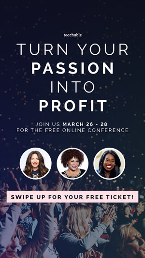 During the Women Who Create conference, there will be 13 main events, with 25+ expert creators who will be pulling back the curtains on how they created their online businesses.