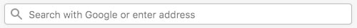 Mozilla Firefox Web Browser Address Bar