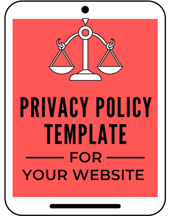 Get this easy to use Privacy Policy Template for your blog... The Privacy Policy page is a very important legal document that all websites and blogs must have. Laws in countries around the world require it on your website. The General Data Protection Regulation (GDPR), Federal Trade Commission (FTC), Children's Online Privacy Protection Act (COPPA), California's Online Privacy Protection Act (CalOPPA) are just some of the rules and regulations that should be addressed in your Privacy Policy.