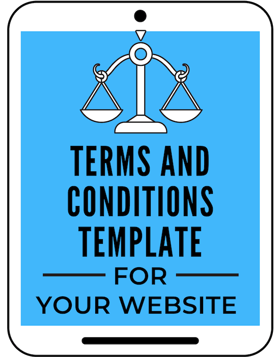 Get this easy to use Terms and Conditions Template for your blog... The Terms and Conditions or Terms of Service page is a very important legal page that all websites and blogs should have. This page legitimizes your business and protects you from risks and legal liabilities. #ahoodlife #blogtips #blogging #bloggingtips #bloggingforbeginners #startablog #blogginglaws #bloglegal #bloglegally #termsandconditions #bloglegalpages #legalpagesforblog #legalforms #legaltemplates #legalpages