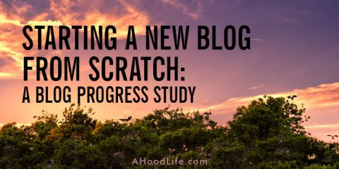 Starting a new blog from scratch and on the cheap can be daunting! This blog progress study breaks down tasks, time spent, money spent, and revenue earned.